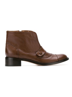 leather boots Sarah Chofakian