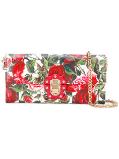 сумка через плечо Lucia  с цветочным принтом Dolce & Gabbana