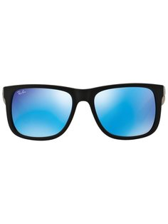 polarized lens square frame sunglasses Ray-Ban