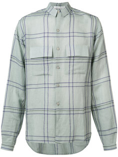 check button-up shirt Denis Colomb