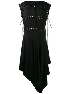 асимметричное платье со шнуровкой J.W.Anderson