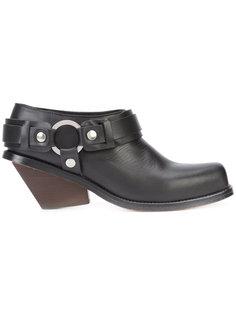 chunky heel boots Wanda Nylon