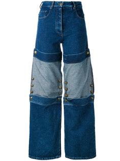 широкие джинсы с панельным дизайном Y / Project