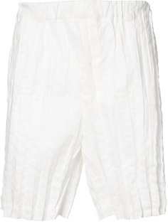 crinkle effect shorts Issey Miyake
