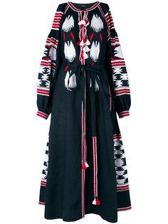 платье с вышивкой Birds  Vita Kin