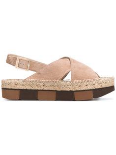 сандалии с перекрестными ремешками  Paloma Barceló