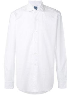 классическая однотонная рубашка  Barba