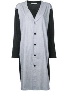 v-neck shirt dress Astraet