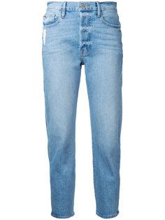 straight cropped jeans Frame Denim
