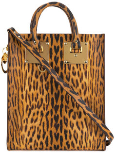 Albion mini leopard tote Sophie Hulme