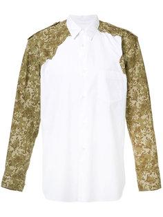 camouflage panel shirt  Comme Des Garçons Shirt