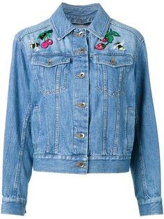 джинсовая куртка с нашивками Muveil