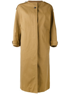 пальто без воротника Jil Sander