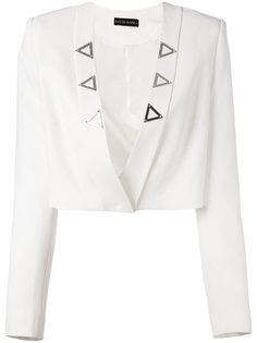 cropped open jacket David Koma