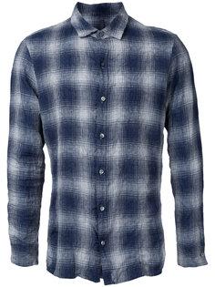 checked shirt  Kazuyuki Kumagai