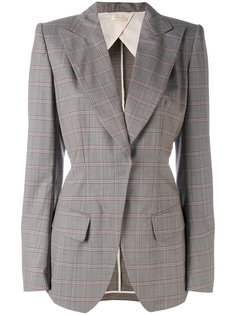 checked blazer Wunderkind
