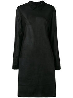 semi sheer shirt dress Rundholz