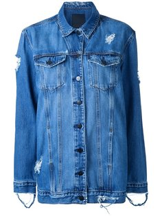 Longline Jacket Roughed Up Nobody Denim