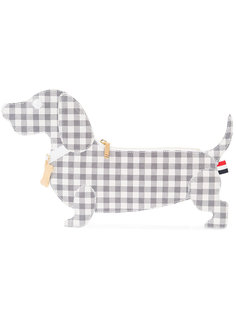 checked dog clutch  Thom Browne