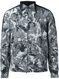 leaves print zipped jacket Kazuyuki Kumagai