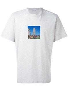 футболка Leaning Tower of Pisa Sunnei