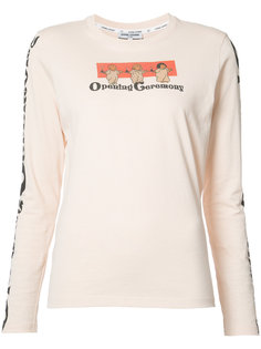 printed longsleeved T-shirt Opening Ceremony