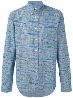 рубашка на пуговицах с принтом рыб Bellerose