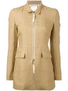 fitted zip front jacket Cherevichkiotvichki