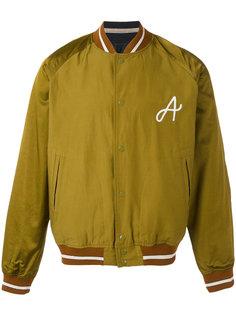 куртка-бомбер  с вышивкой  A Bellerose