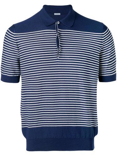 полосатая футболка-поло Malo