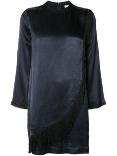 longsleeved mini dress Ganni