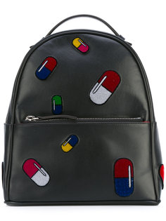 рюкзак с заплатками в виде пилюль Les Petits Joueurs