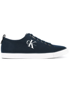 canvas logo trainers Calvin Klein Jeans