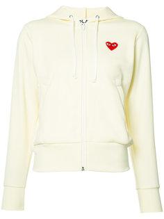 heart logo hoodie Comme Des Garçons Play