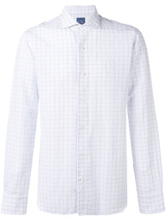 woven grid shirt  Barba
