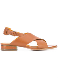 cross strap sandals Veronique Branquinho