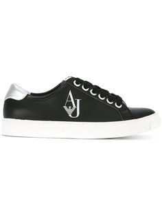 logo trainers Armani Jeans