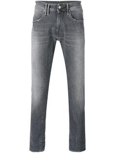 джинсы с потертой отделкой Cycle