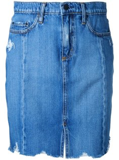 Tilda Skirt Roughed Up Nobody Denim