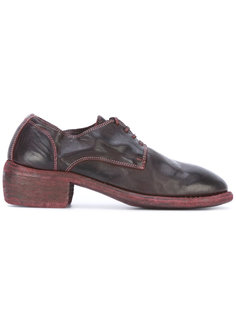 block heel derby shoes Guidi