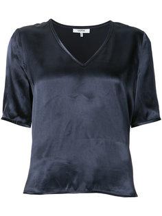 V-neck blouse Ganni