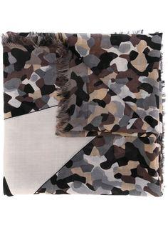 камуфляжный шарф Bag Bugs Fendi