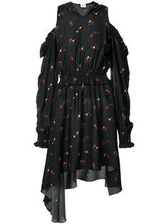 ruffled midi-dress Magda Butrym