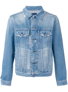 distressed denim jacket Simon Miller