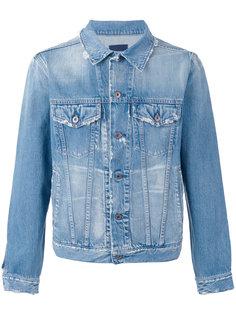 distressed denim jacket Simon Miller