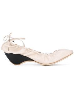 балетки с завязками сзади J.W.Anderson