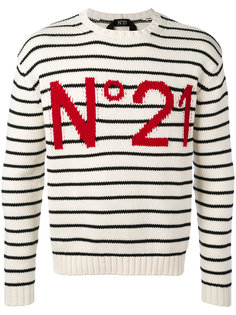 striped sweatshirt Nº21