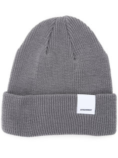 folded knitted beanie Attachment