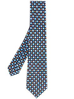 diamond dot tie Kiton