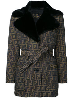 Zucca pattern long sleeve jacket Fendi Vintage